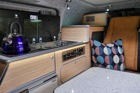 Nissan NV200 CamperCar Sussex Campervans mini camper Kitchen NV200.JPEG