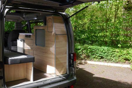 Nissan NV200 CamperCar Solo Sussex Campervans Solo camping.JPG